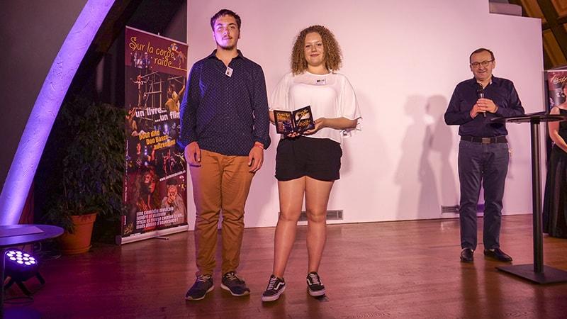 L'institut Lemonnier de Caen obtient ex-aequo avec Les Minimes le prix du Jury avec « Humanoïd ».