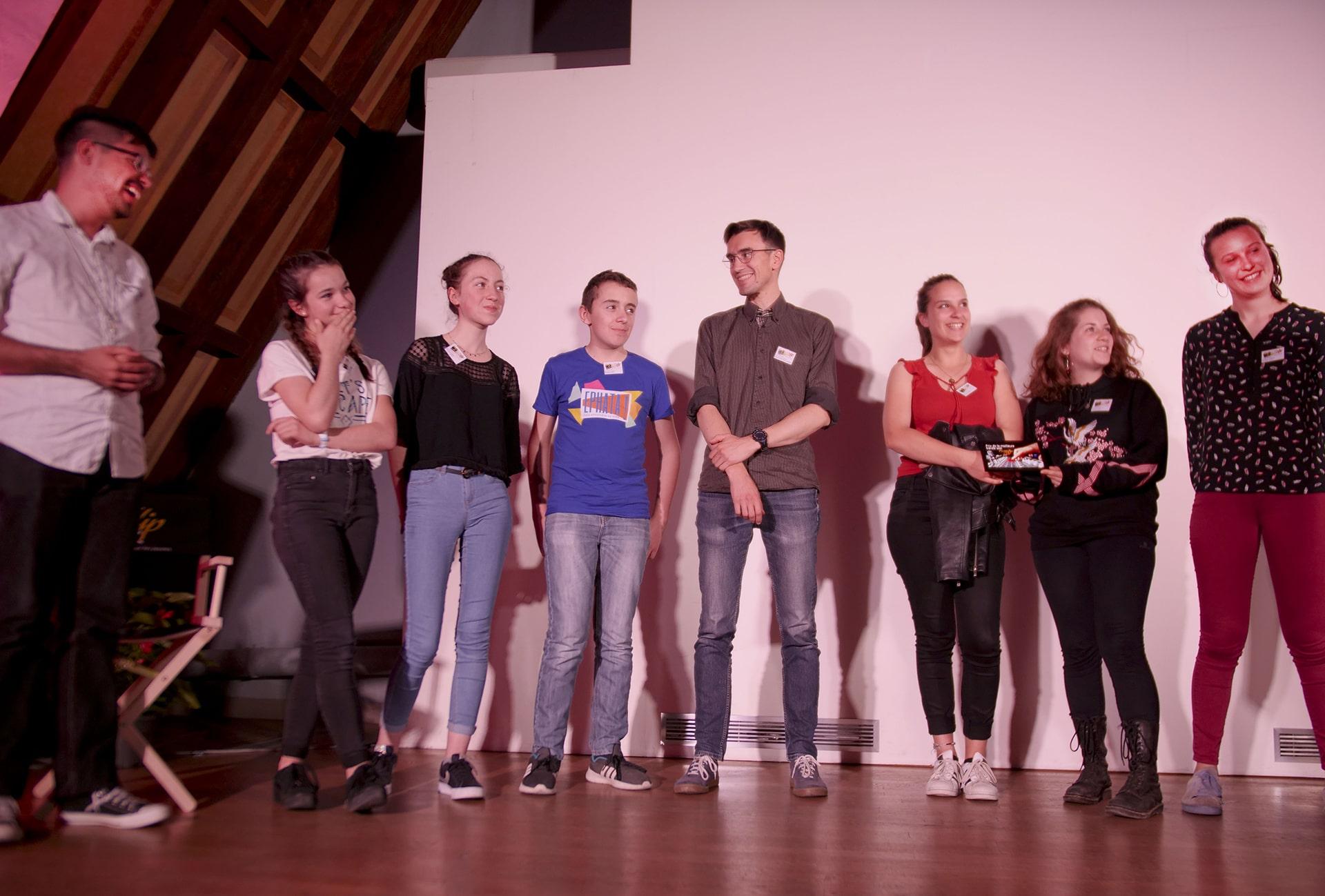 L'aumônerie de Bourgoin-Jallieu reçoit le prix de la meilleure bande son.