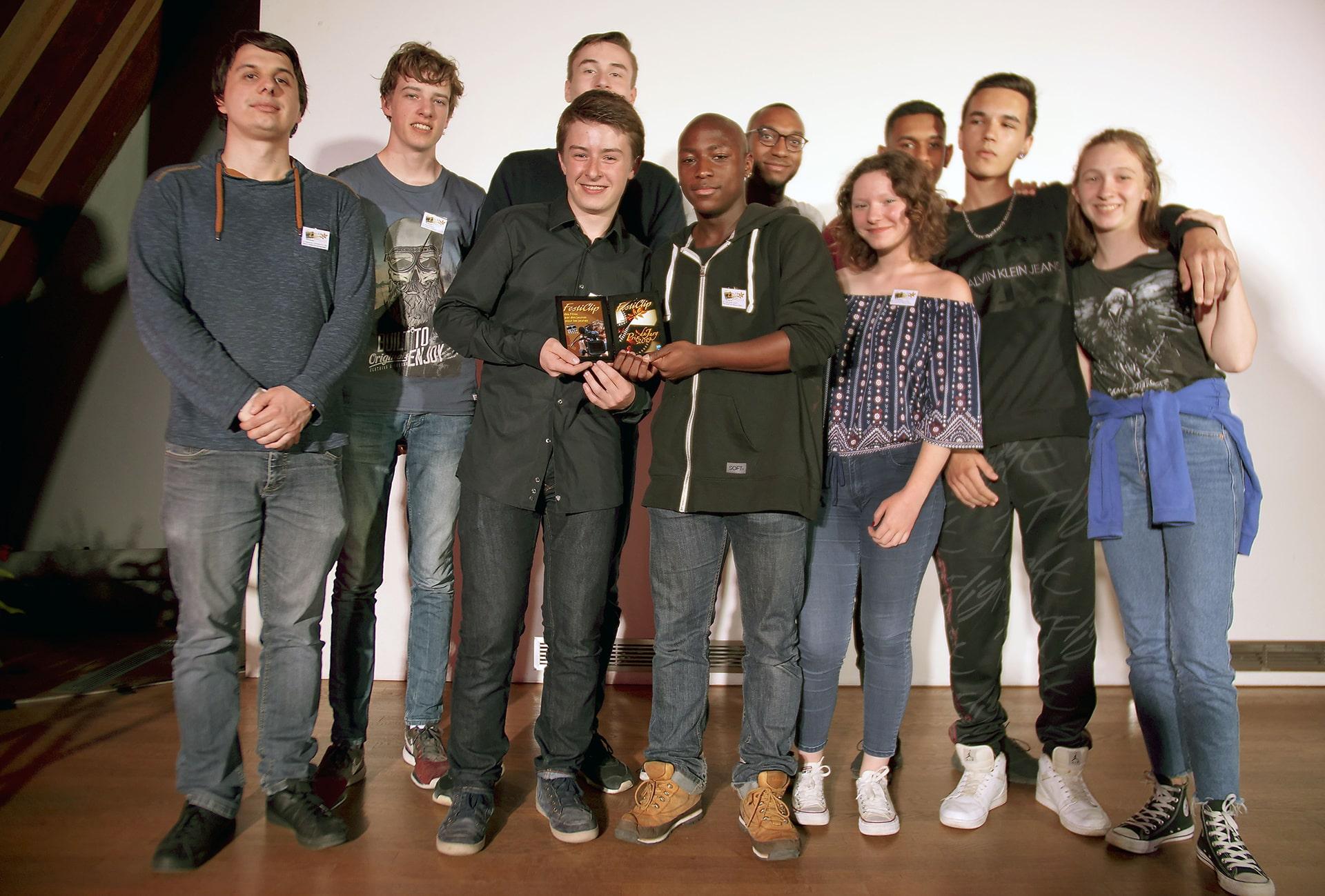 Don Bosco Landser et la paroisse de Paris ont reçu ex aequo le prix du jury.